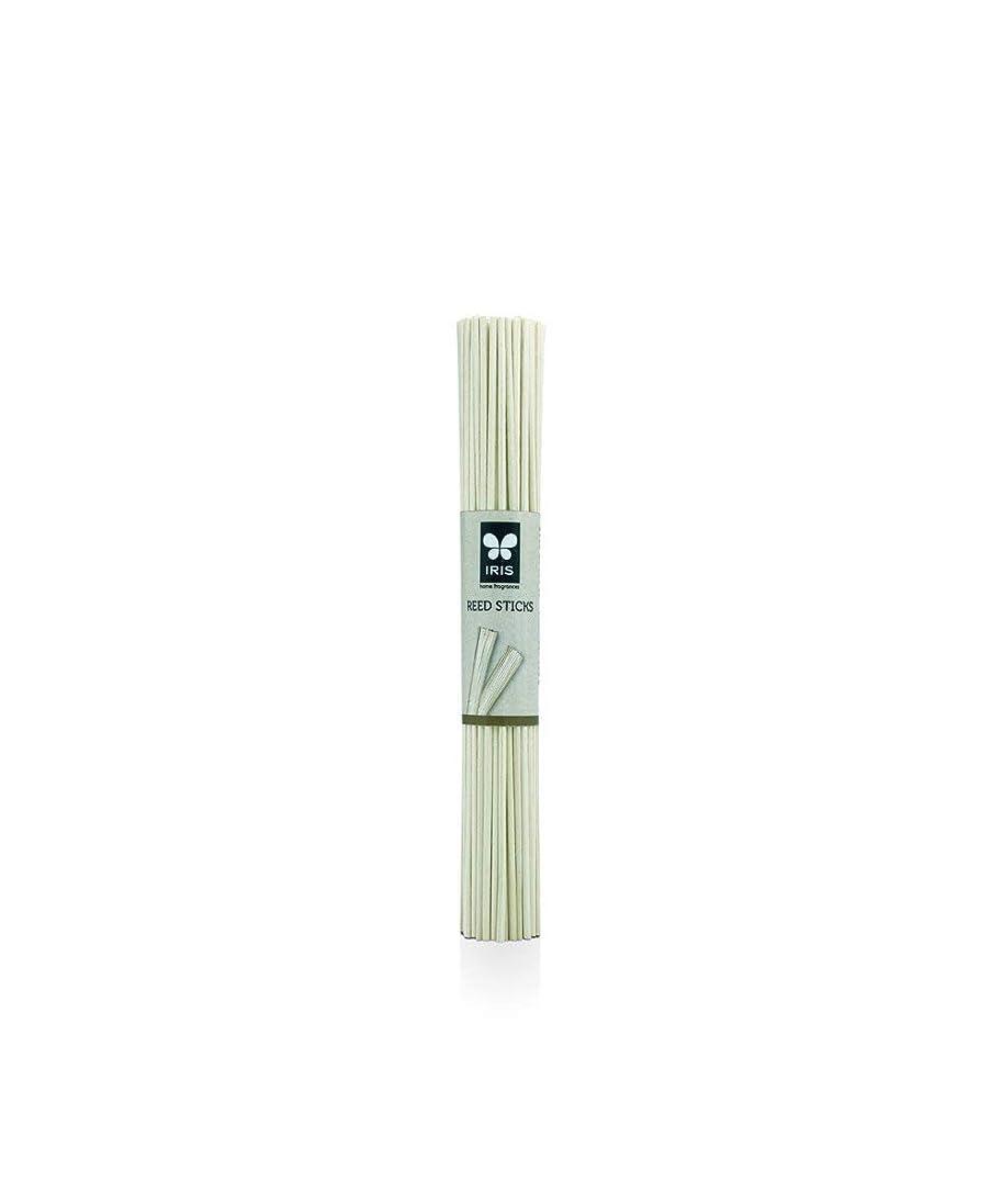 真珠のような著作権マイクロフォンIris Wood Reed Sticks (Set of 50) (19 cm Long)
