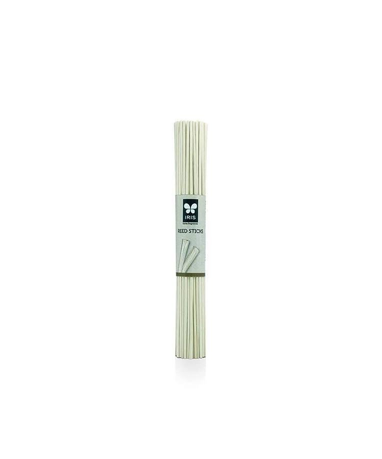 ナース大砲退屈なIris Wood Reed Sticks (Set of 50) (19 cm Long)