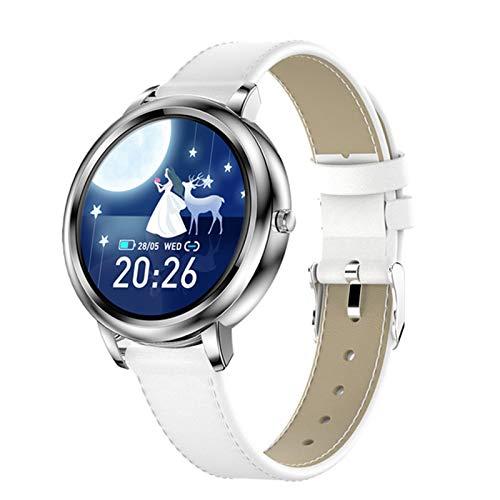 QAK HK20 New Ladies Fashion Smart Watch Personalizado Personalizado Bluetooth Cardíaco Y Presión Arterial Medición De La Pulsera De Navidad para Android iOS,C