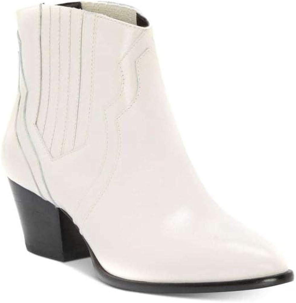 INC International Concepts Womens andriaa Leather, Eggshell Cream, Size 6.0