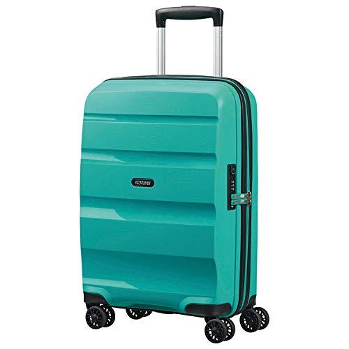 American Tourister Bon Air DLX Valise à roulettes 4 roues Turquoise 55 cm