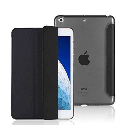 Mazu Homee Funda para tablet PC 2018/2017 iPad 9.7 de 5ª generación/6ª generación, ultra delgada y ligera, funda para iPad 9.7 pulgadas 2018/2017, color negro