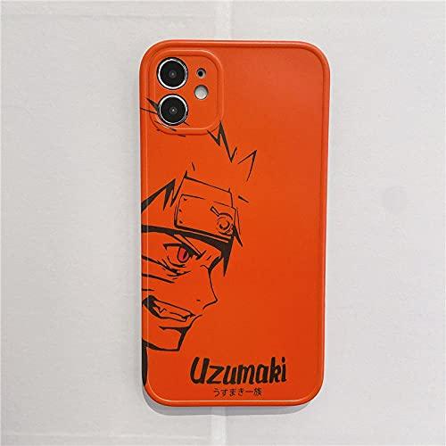 Naruto Anime Soft Case para iPhone 6 6S 7 8 Plus X XR XS 11 12 Pro MAX Mini SE 2020 Cubierta del teléfono-l_iPhone_6_6s_Plus
