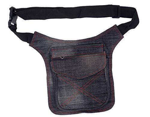 Riñonera Lateral, Bolsa de Cadera 2 Bolsillos (Color 3)