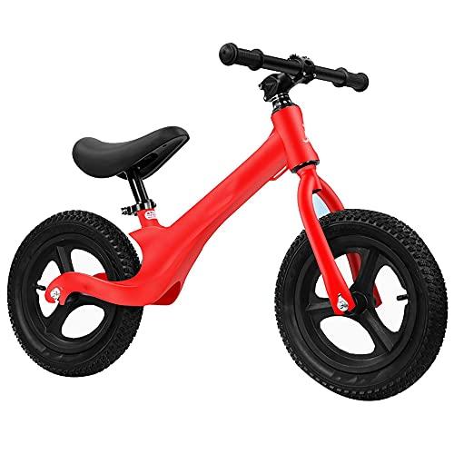 Scooter de Equilibrio de 12 Pulgadas, Bicicleta sin Pedal, Coche para NiñOs de 2 a 6 añOs, Coche Yoyo para BebéS, Andador/red / 12inch