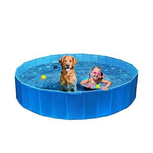 Piscina plegable para perros, gatos y niños (160 x 30 cm)