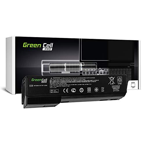 Green Cell Pro Serie CC06 CC06XL CC09 Laptop Akku für HP EliteBook 8460p 8460w 8470p 8470w 8560p 8560w 8570p (Original Samsung SDI Zellen, 6 Zellen, 5200mAh, Schwarz)