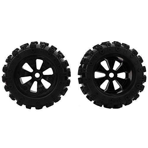 SSPKTY Neumático De Goma De 170 Mm Piezas De Actualización De Ruedas De Hub De 17 Mm, para El Camión Monstruo 1/8 RC Coche