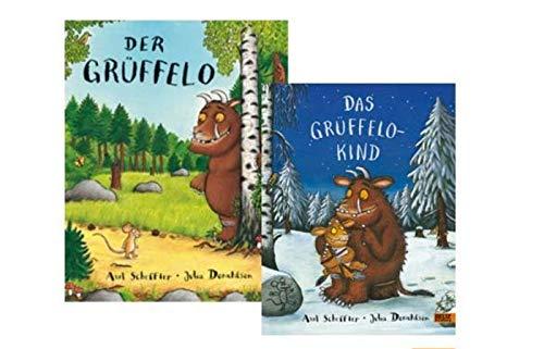 KINDERBUCH Grüffelo + Fortsetzung Das Grüffelokind im Bücherset, Pappbilderbuch