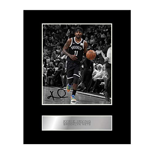 Kyrie Irving Print Signed Mounted Photo Display #01Printed Autograph Picture Print