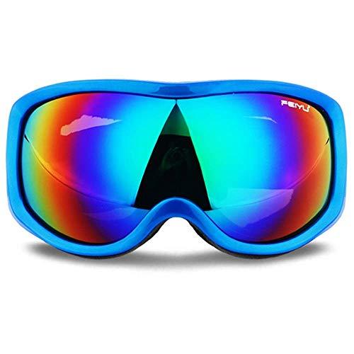 Gafas de esquí Gafas de esquí de una capa Protección UV Gafas de nieve antivaho para hombres Mujeres Jóvenes Invierno Outdoor Motos de nieve/esquí Gafas deportivas 05