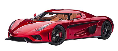 Koenigsegg Regera Candy Red 1/18 Model Car by Autoart 79026