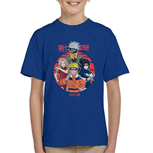 Cloud City 7 Time Seven Naruto Kid's T-Shirt