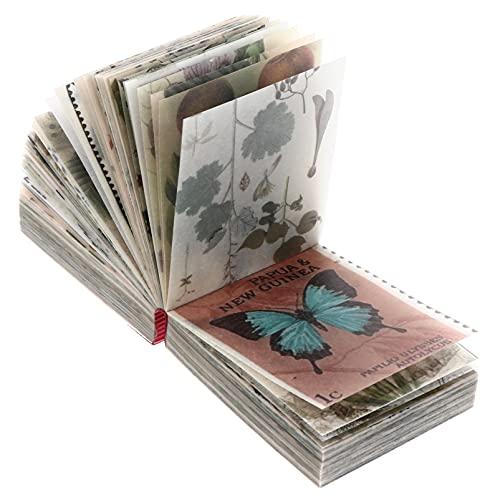 HEALLILY 365 Hojas Vintage Scrapbook Material Papel DIY Scrapbooking Retro Material...