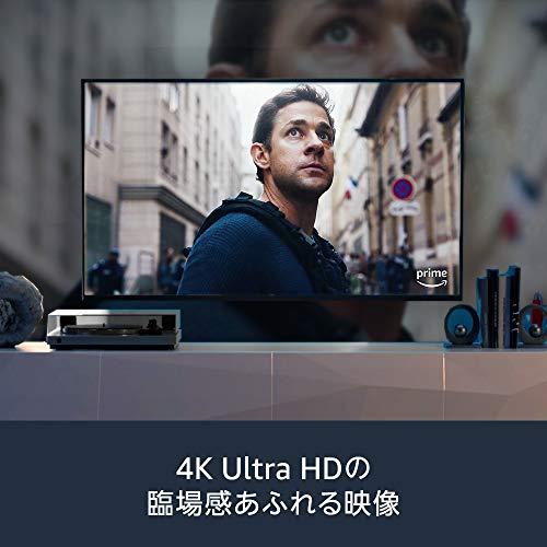 FireTVStick4K-Alexa対応音声認識リモコン付属|ストリーミングメディアプレーヤー