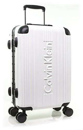 Calvin Klein Fulton Hardside Spinner Luggage White