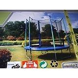 Sportspower Trampolin-Gehege für Fitness, 144 cm