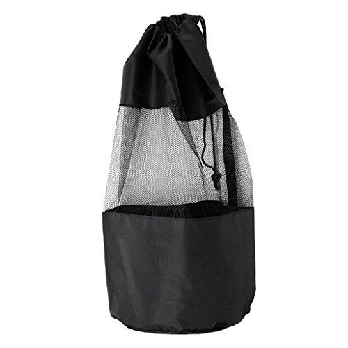 FLAMEER Drawstring Dive Mesh Gear Bag para Buceo Buceo Máscara De Natación Traje De Neopreno Aletas Aletas Accesorios Equipamiento