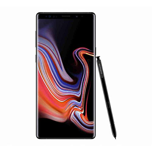 Samsung Galaxy Note9 Smartphone, Nero (Midnight Black), Display 6.4 pollici, 128 GB Espandibili, 6 GB RAM, Dual SIM [Versione Italiana] (Ricondizionato)
