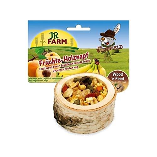 JR-Farm Nager Holznapf gefüllt mit Früchte