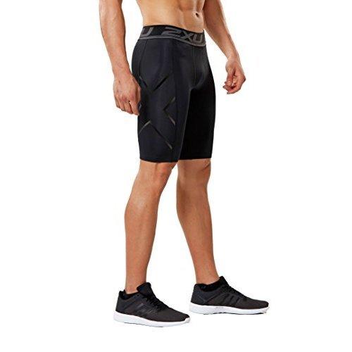 2XU Men's Accelerate Compression Shorts (Black/Nero, Small)