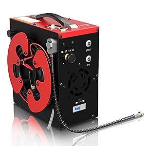 41knfJ5SPoL. SS300  - Compresor de aire PCP portátil, GX CS3 parada automática, sin aceite, filtro separador de agua y aceite incorporado…