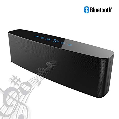 Speaker-EJOYDUTY Touch Control Draagbaar stereo-luidsprekersysteem, 4 lage tonen, TF-kaart, buiten- en thuisluidsprekers, voor iPhone, Mobile, tablet, laptop