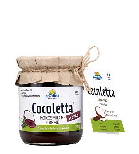 Govinda - Crema al latte di cocco crema di cioccolato biologico - 250 g