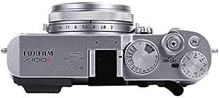 JFOTO FJ-G Thumbs Up Grip Designed for FUJIFILM Fuji X100F, X100T, X100S, X100, Better Balance & Grip Convenience, Camera Black Metal Hand Grip, Newest Version securely The Camera