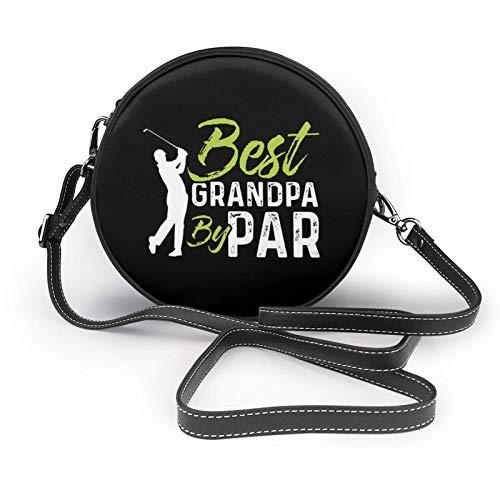 Bolas de golf para golf, golf, golf, bola, agujero en una bolsa de piel con correa pequeña, bolso de mano ligero, para mujeres