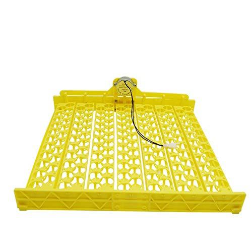 Incubadora de huevos de aves con calefacción uniforme de alta tasa de incubación bandeja automática para huevos hueca y transpirable