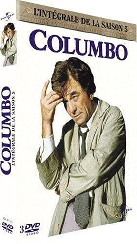 Columbo : L'Intégrale Saison 5 - Coffret 3 DVD - 6 Episodes