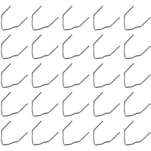 Mogzank MáQuina de ReparacióN de Grapas en Caliente Grapadora en Caliente para Soldadura de PláStico ReparacióN de Coche Precortado para Todos los Coches en áNgulo Recto 500 Piezas
