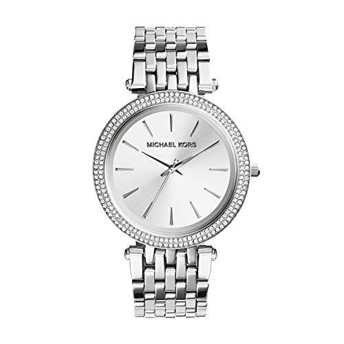 Michael Kors Damen Analog Quarz Uhr mit Edelstahl Armband MK3190