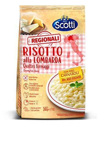 Riso Scotti Riso Scotti - I Regionali Risotto Alla Lombarda - Riso Carnaroli Senza Glutine, Pronto...
