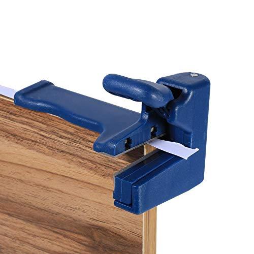 Set di levigatrici per bordatrici a doppio bordo - Dispositivo di taglio per trimming, incl. Tagliabordi e tagliabordi a testa e coda - Utensile per falegnameria per strisciante in PVC da carpentiere