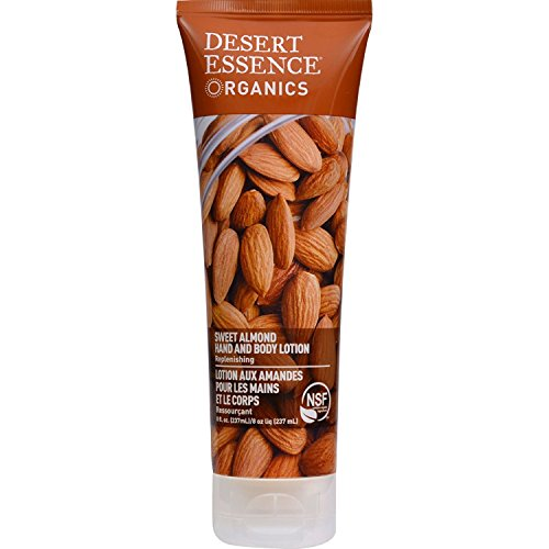 New - Desert Essence Hand and Body Lotion Almond - 8 fl oz by Hand and Body Lotion