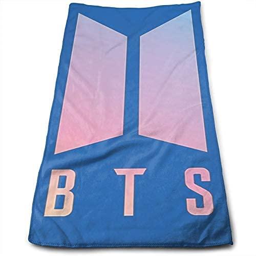 BTS - Toalla de playa superabsorbente, diseño de Bangtan con motivos para hombre y mujer, toalla de playa y baño (BTS1, 150 x 200 cm)