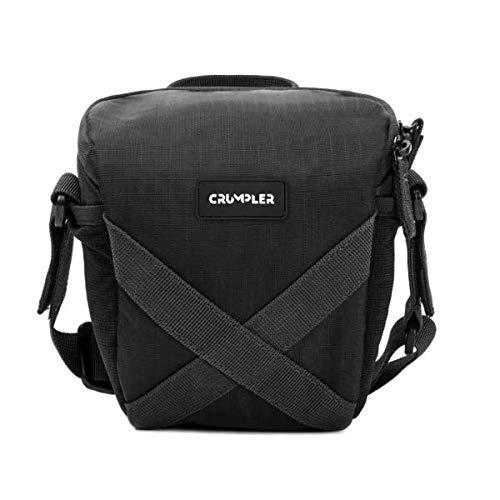 Crumpler QDT150-001 Quick Delight Toploader 150 Universal Schultertasche für Camcorder und Bridge Kamera schwarz
