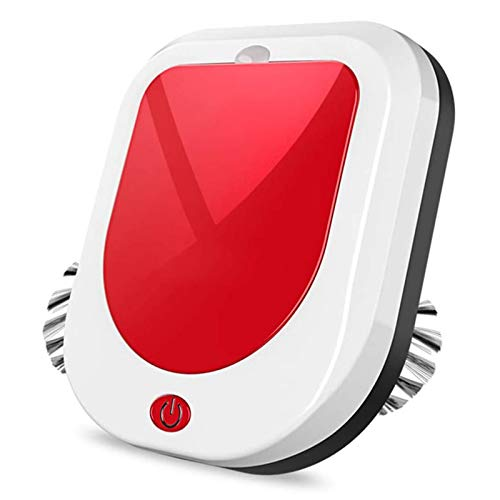 LAHappy Aspirador Robot Succión 850pa, Silencioso, con Sistema Anticolisión Y Sensor De Protección Anticaída, Robots Friegasuelos para Pisos Duros Y La...