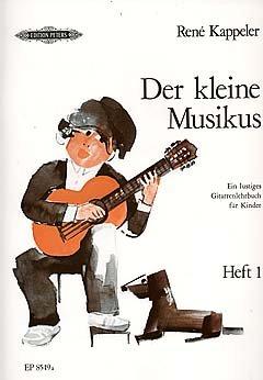 DER KLEINE MUSIKUS 2 - arrangiert für Gitarre [Noten / Sheetmusic] Komponist: KAPPELER RENE