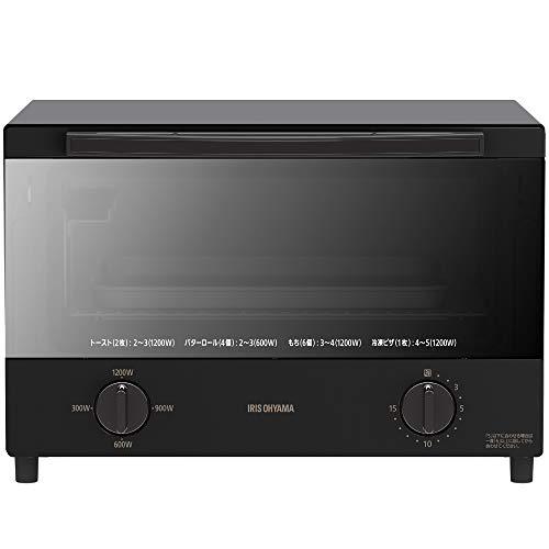 スチームオーブントースター4枚焼きブラックKSOT-012-Bアイリスオーヤマ