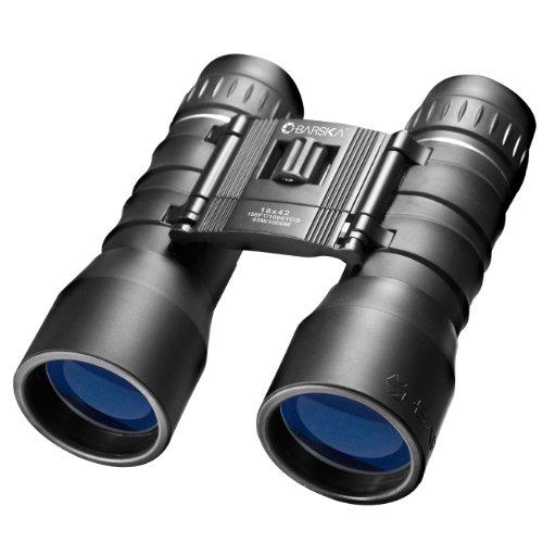 Barska Lucid View dakkant-verrekijker, 16 x 42 verrekijker, zwart, M