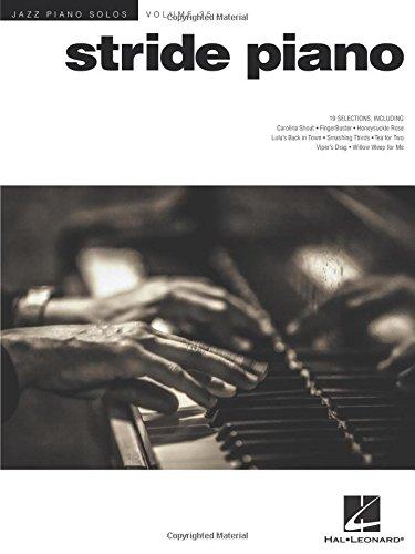 Jazz Piano Solos Volume 25: Stride Piano: Sammelband für Klavier: Jazz Piano Solos Series Volume 35
