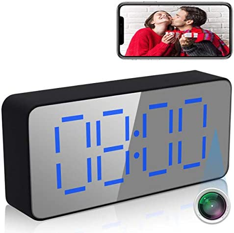 SUSZAVSS 4K Clock Camera WiFi Wireless Camera Indoor Home Security Surveillance Camera IP Camera product image
