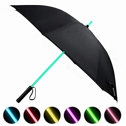 LED Umbrella - Lightsaber Laser Sword Light up Umbrella with 7 Color...