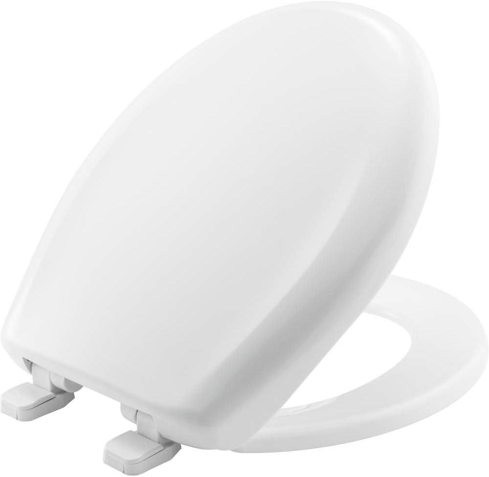 CHURCH 300TCA 000 Max 78% OFF Toilet NEW Plastic Seat White ROUND