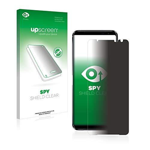 upscreen Anti-Spy Blickschutzfolie kompatibel mit Asus ROG Phone 3 Strix Privacy Screen Sichtschutz Bildschirmschutz-Folie