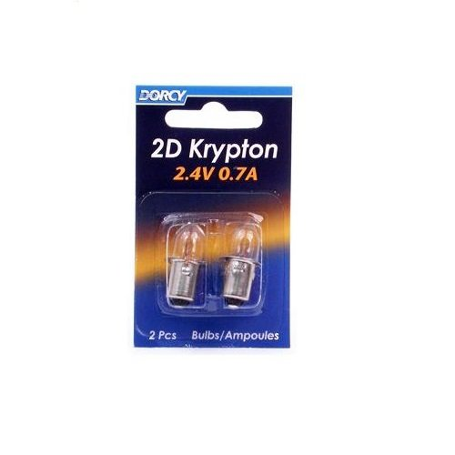 DORCY International 41–1660 2er Pack 2D KPR102 Krypton-Glühlampe