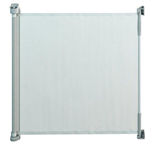 Gaterol Active Lite Blanc – Barrière de sécurité store extensible pour escalier et porte jusqu'à 140 cm de couverture